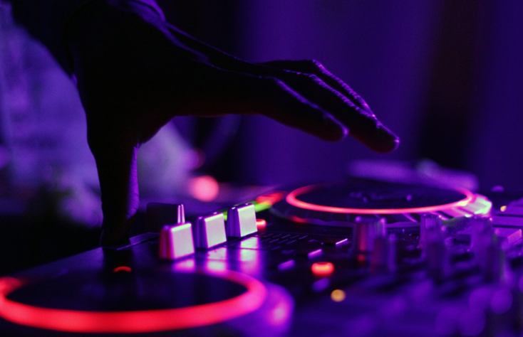 DJ mixer online